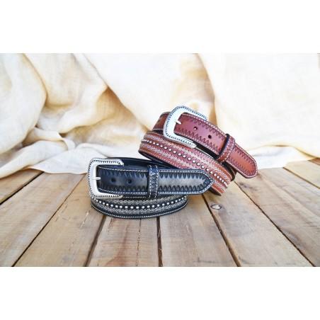 Hemlock Belt - Veg Leather Unisex - Lejon