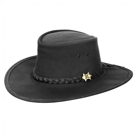 Chapeau Australien - Stockman Cuir Vachette Huilé Unisexe - BC Hats