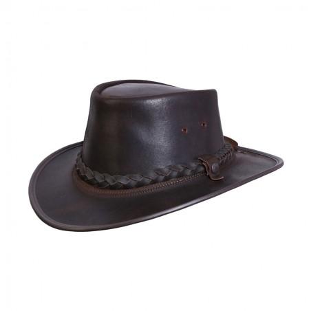 Australian Hat - Bac Pac Traveller Cowhide Oily Unisex - BC Hats