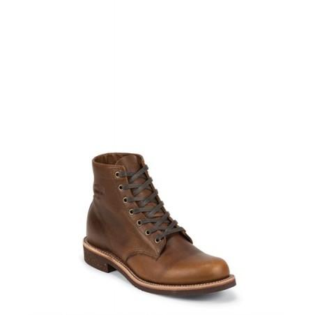Chaussures à lacets - Cuir Vachette Semelle Vibram Homme - Chippewa Boots