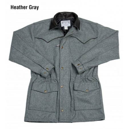 Coat - Wool Grey Big Country Rancher Men - Schaefer