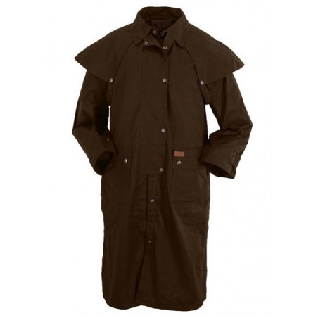 Duster Coat - Cotton Oilskin Low Rider Unisex - Outback