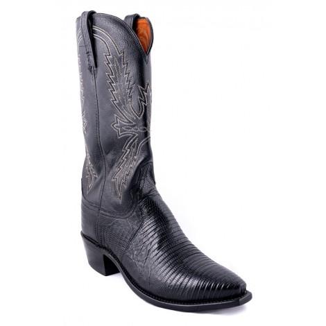 Cowboy Boots - Genuine Lizard Leather