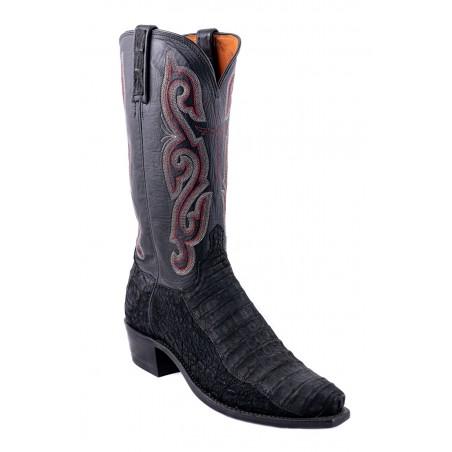 Lucchese Boots - Botte Western Cuir Caïman Suede