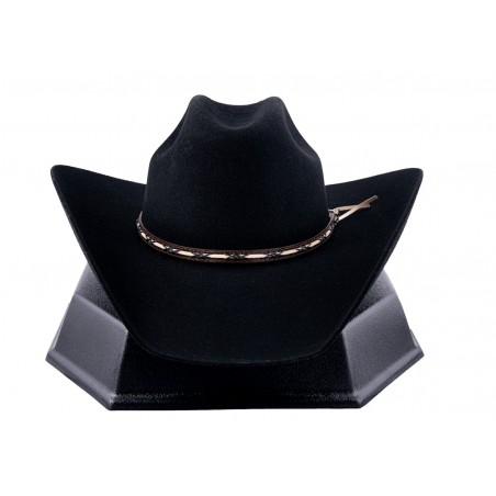 Cowboy Hat - Amarillo Sky Fur Felt Black Unisex - Resistol Hats