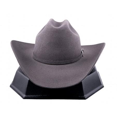 Cowboy Hat - Tucker Fur Felt Grey Unisex - Resistol Hats