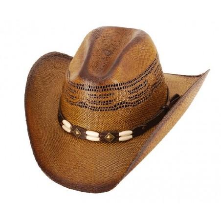 Cowboy Hat - Brockway Straw Brown Unisex - Western Express