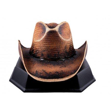 Cowboy Hat - Thorn Handmade Straw Brown Unisex - Austin Hats