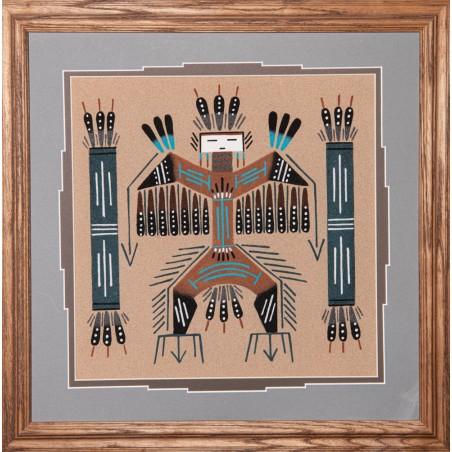 Sandpainting - Navajo Kachina - Native American Art