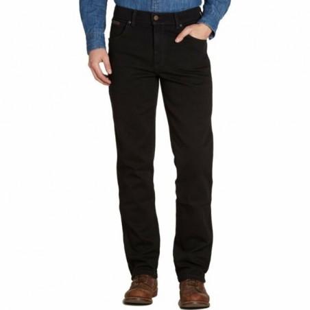Jeans - Black Overdye Texas Stretch Men - Wrangler