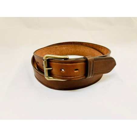 Belt - Smooth Cowhide Unisex - Brushy Creek