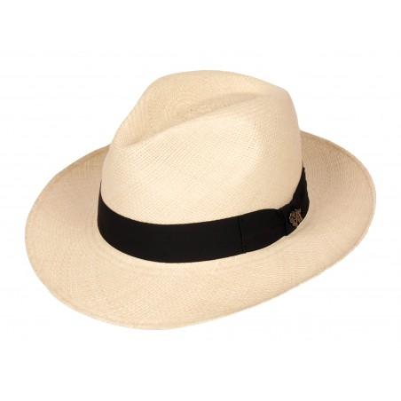 Classic Panama Hat - Toquilla Straw Natural Unisex - Bigalli Hats