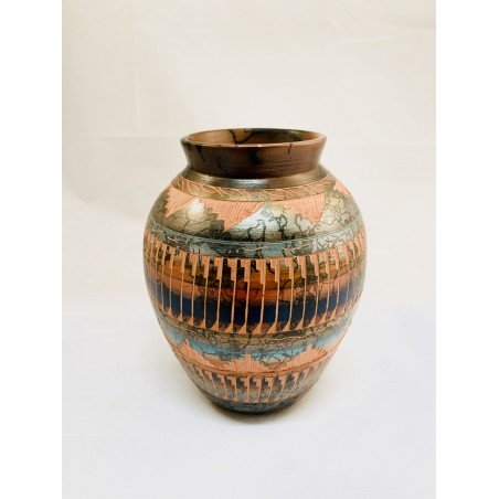 Authentic Navajo Pottery - Native American Art