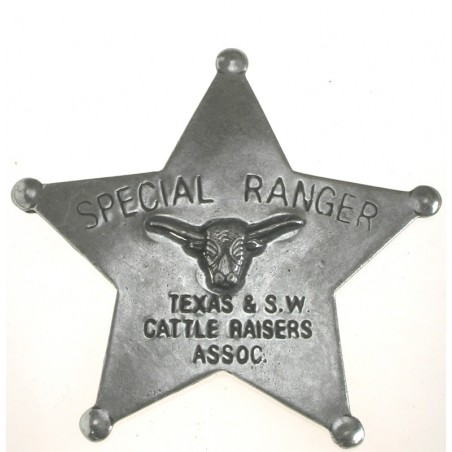 Badges Old West Replica - Special Ranger Texas
