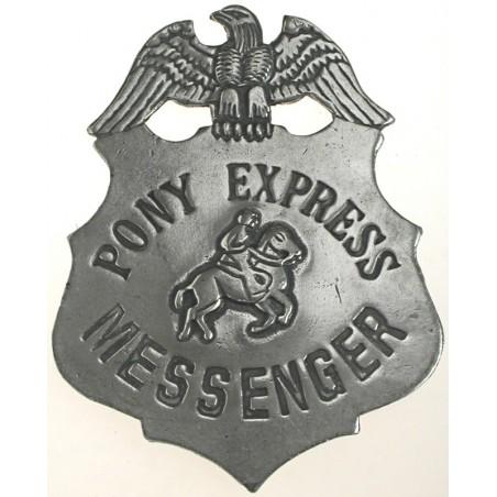 Badges Old West Replica - Pony Express Messenger