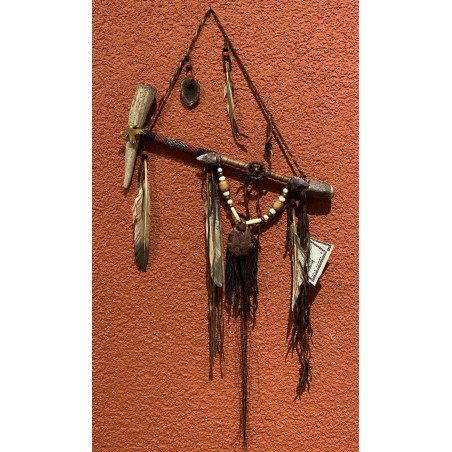 Small Wooden Pipe Navajo - Native American Art