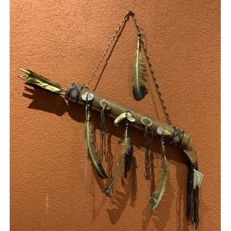 Deerskin Quiver - Native American Art