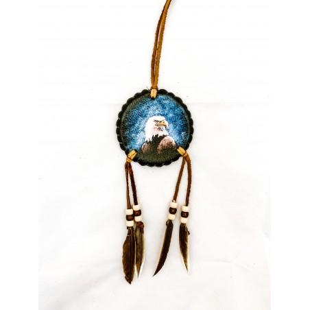 Art Indien - Petit Mandala Aigle