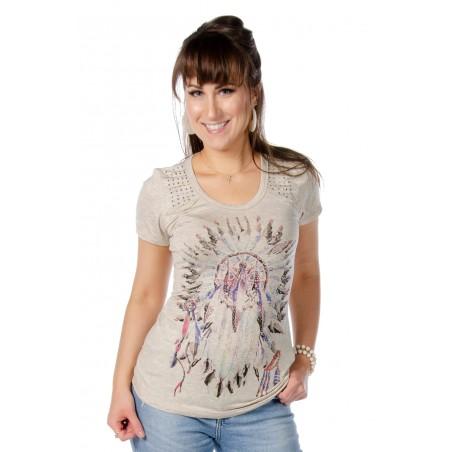 T-shirt - Oat Dream Catcher Women - Liberty Wear