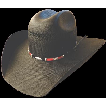 Chapeau de cowboy - Noir Toile Conchos Unisexe - Dallas Hats