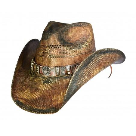 Cowboy Hat - Vintage Straw Longhorn Unisex - Dallas Hats