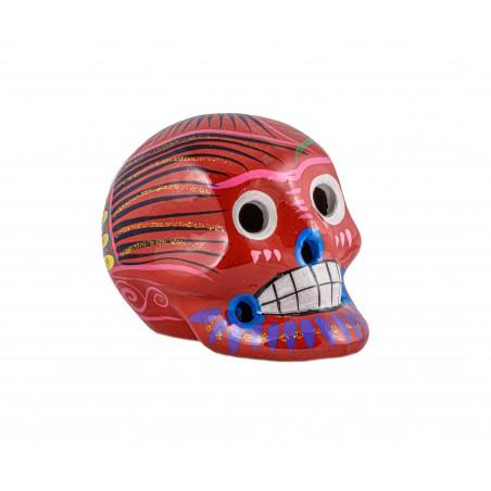 Decoration - Red Calavera - El Paso Trading Post