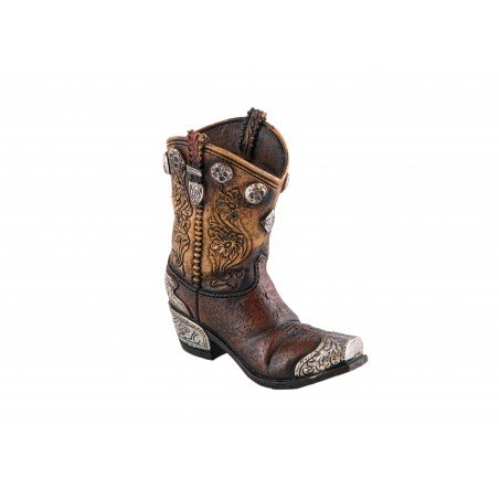 Decoration - Small Brown Cowboy Boot