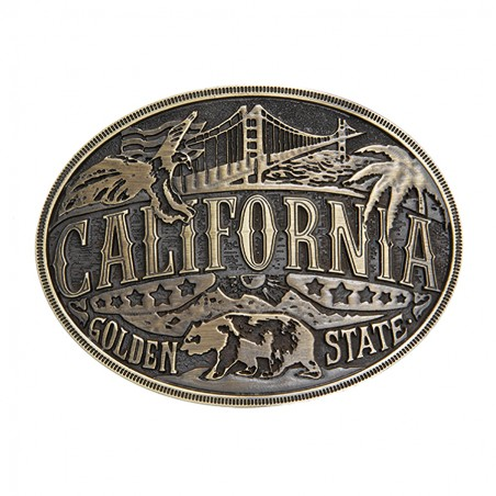 Western Buckle - Heritage California Unisex - AndWest