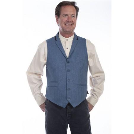 Classic Vest - Polyester Blue Men - Scully