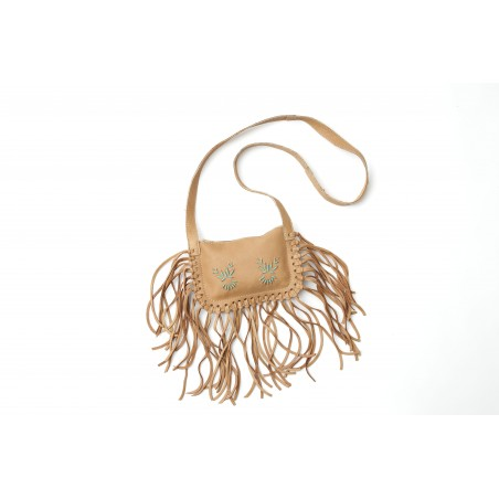 Hand Bags - Moosehide Leather Beaded Women - Bastien Industries