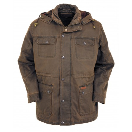 Langston Jacket - Canyonland Brown Waterproof Men - Outback