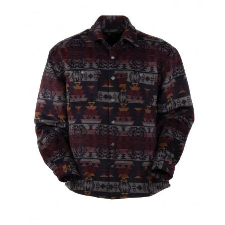 Shirt Jacket - Hudson Aztec Men - Outback