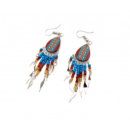 Boucles d'oreilles - Southwest Mandala Brun - El Paso