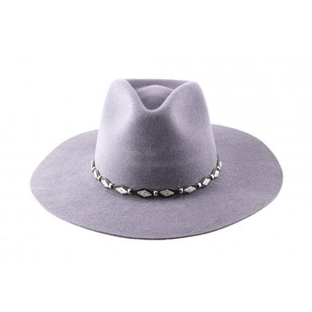 Cowboy Hats - Tycoon Grey Fur Felt 3x Unisex - Master Hatters