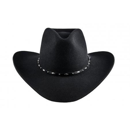 Cowboy Hats - Colorado Black Fur Felt 3x Unisex - Master Hatters