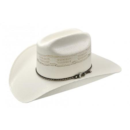 Chapeau de cowboy - Paille 20x Blanc Unisexe - Master Hatters