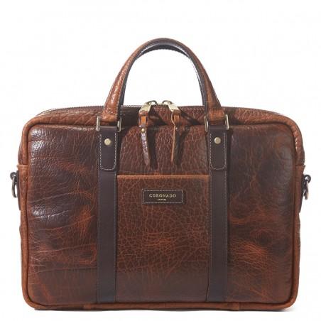 Coronado Leather - Bison Briefcase