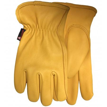 The Duke Lined Gloves - Deerskin Leather Unisex - Watson Gloves
