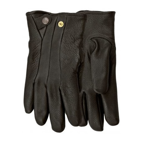 Stagline Lined Gloves - Snap Deerskin Leather Unisex - Watson Gloves